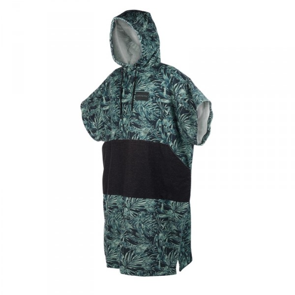 Mystic Poncho Allover Green