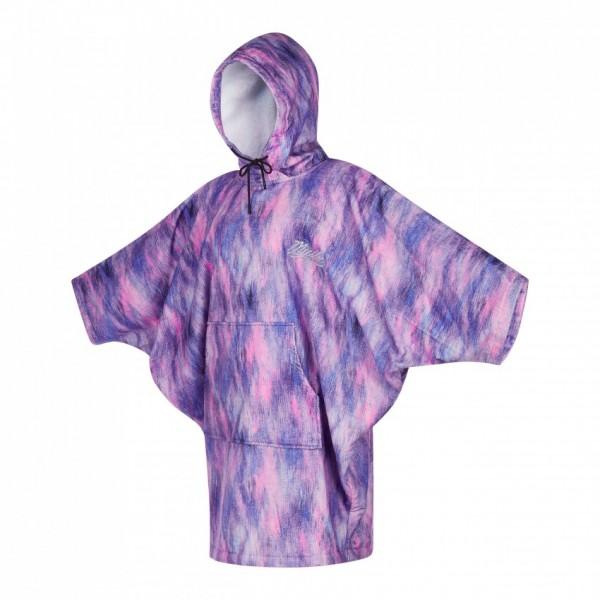 Mystic Poncho Black/ Purple
