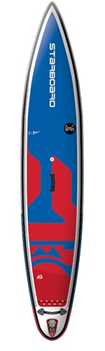 """Starboard Inflatable Sup 10'6"""" x 23"""" x 4.75"""" Kid Racer Deluxe"""