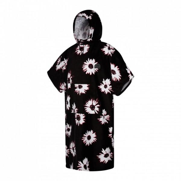 Mystic Poncho Velour Black/ White