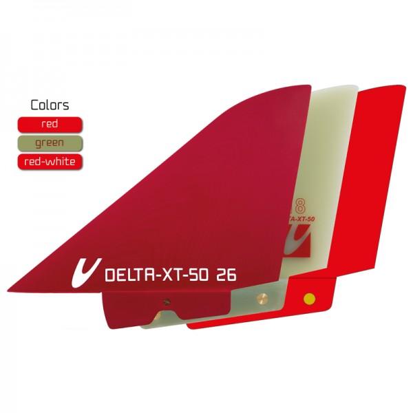 Maui Ultra Fins Delta XT 50 Red